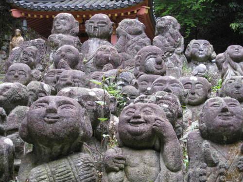 嵯峨野の佛さん。